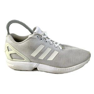 Adidas Mens ZX Flux White Sneakers US8 Shoes